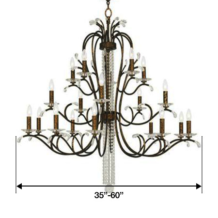 Chandeliers large size chandeliers aloadofball Choice Image