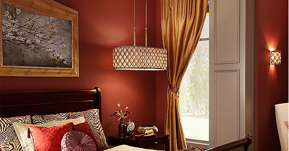 Intimate Bedroom Lighting