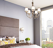 chandelier style bedroom lighting - Bedroom Lighting