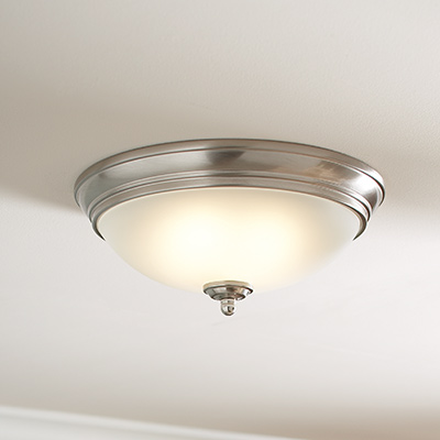 Kitchen lighting fixtures ideas at the home depot ceiling lights aloadofball Image collections