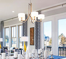 Exceptionnel Chandelier Style Dining Room Lighting