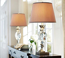 Bedroom Lighting Lamps Living Room Lighting At The Home Depot - Lamp shades for bedrooms