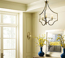 Chandelier Style Foyer Lighting