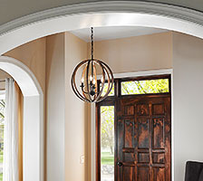 Elegant Pendant Style Foyer Lighting
