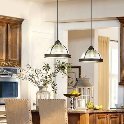 Kitchen Lighting Fixtures Ideas At The Home Depot - Kitchen light fixtures with fans