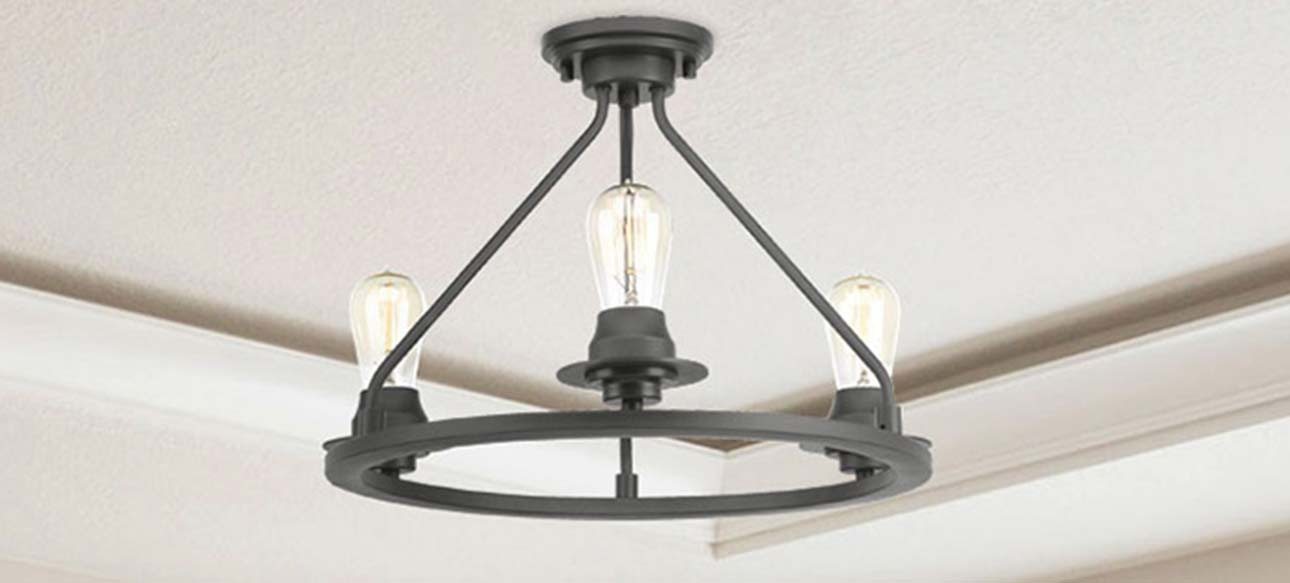 Flush Mount Lighting Semi