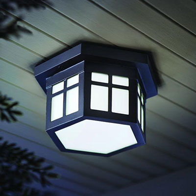 Outdoor lighting exterior light fixtures at the home depot flushmount ceiling lights aloadofball Image collections