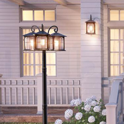 Outdoor lighting exterior light fixtures at the home depot post lights aloadofball Choice Image