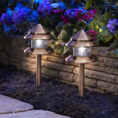 Outdoor lighting exterior light fixtures at the home depot landscape deck lighting aloadofball Images