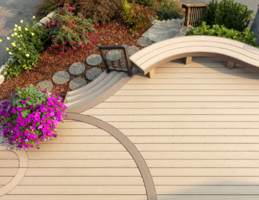 Custom Composite Decking Boards