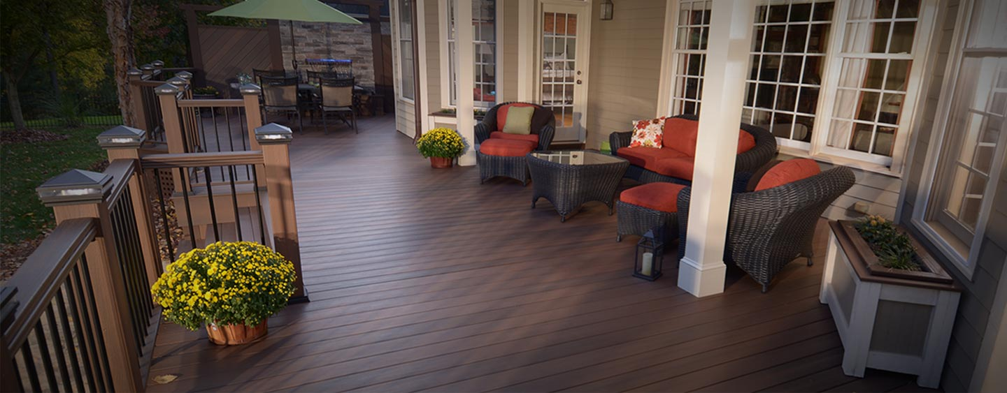 STEP UP TO COMPOSITE DECKING
