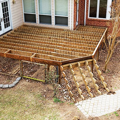 Structural Deck - Decking - Deck Building Materials At The Home Depot