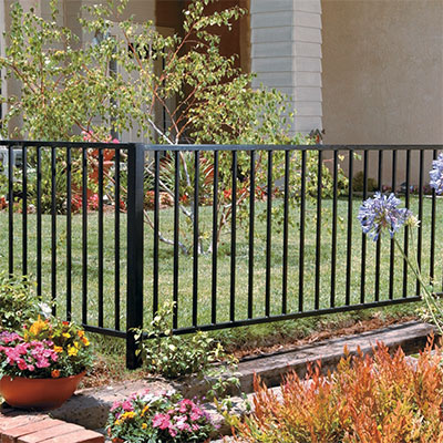 Metal Fencing & Fencing - Fence Materials \u0026 Supplies at The Home Depot