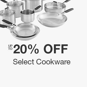 Up to 20% off Select Cookware