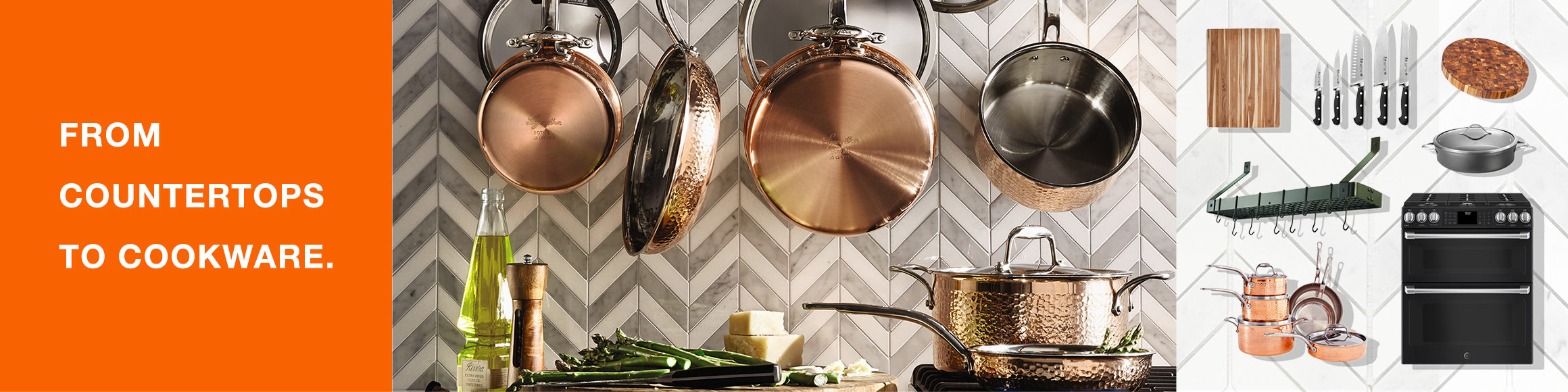 From Countertops to Cookware.