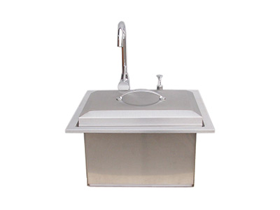 Outdoor Kitchen Sinks Outdoor kitchens the home depot outdoor kitchen sinks workwithnaturefo