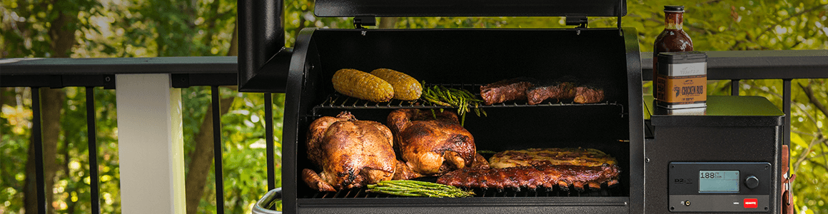 NEW TRAEGER® PRO SERIES WOOD FIRED GRILLS