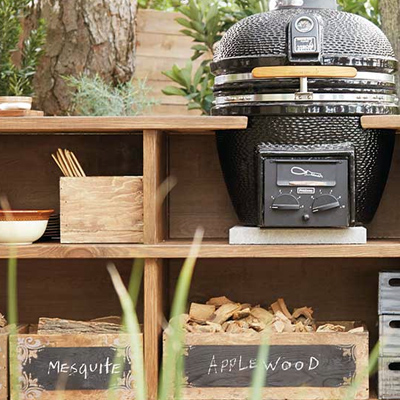 Outdoor ideas how to guides at the home depot for Outdoor grilling station ideas