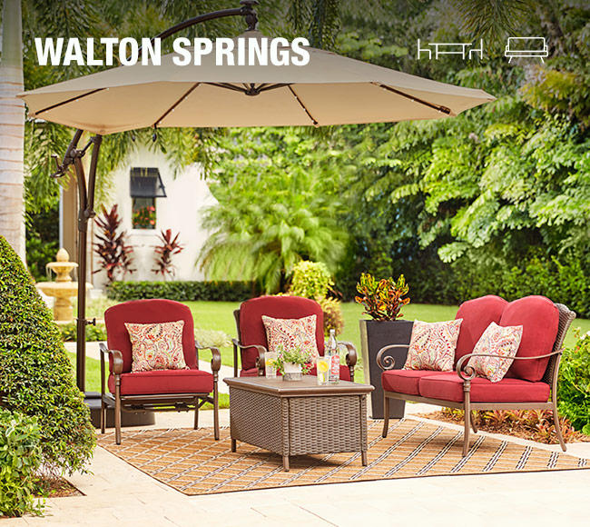Create your own patio collection at the home depot for Design your own home exterior