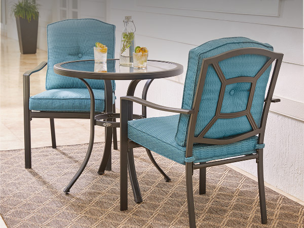 Patio furniture the home depot for Patio table chair sets