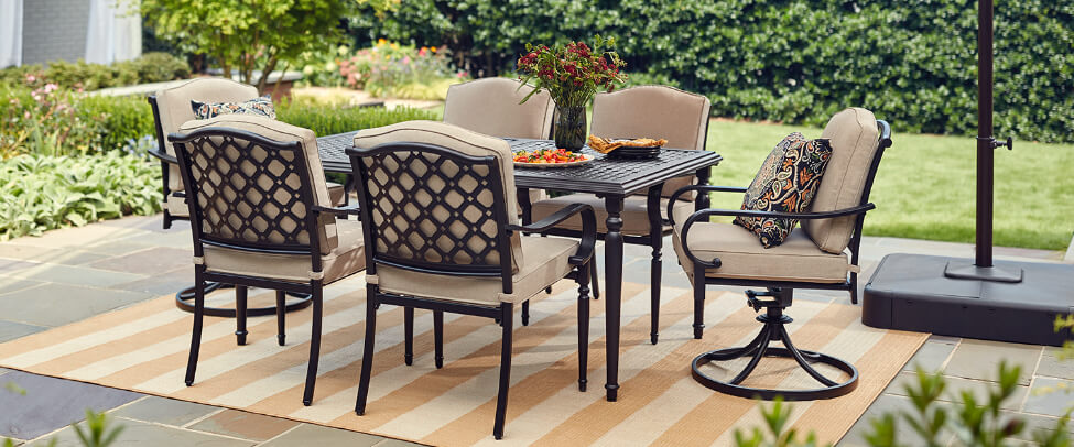 Awe Inspiring Patio Furniture The Home Depot Evergreenethics Interior Chair Design Evergreenethicsorg