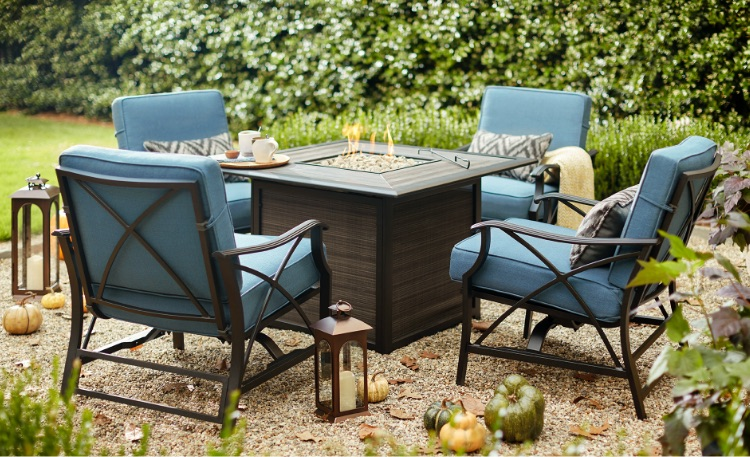 Fire Pit Sets - Patio Furniture - The Home Depot