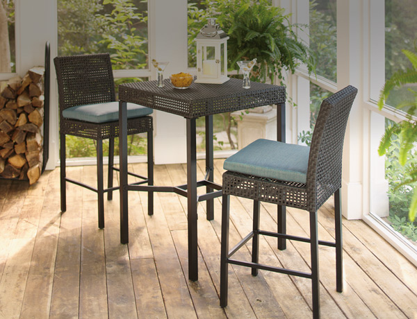 Patio Bar Furniture. Bar Height Dining Sets - Outdoor Bar Furniture - The Home Depot