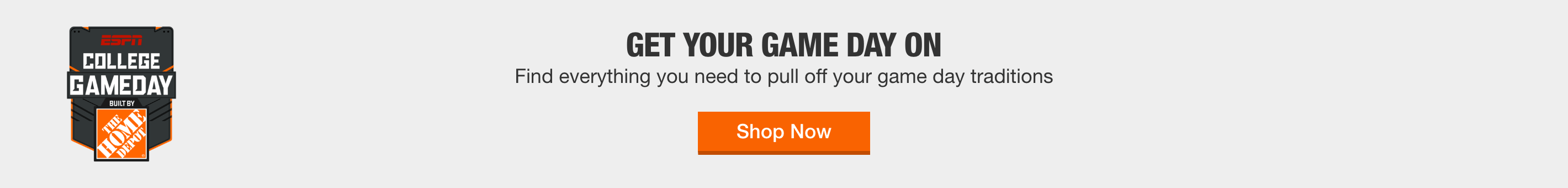 GET YOUR GAME DAY ON - Find everything you need to pull off your game day traditions
