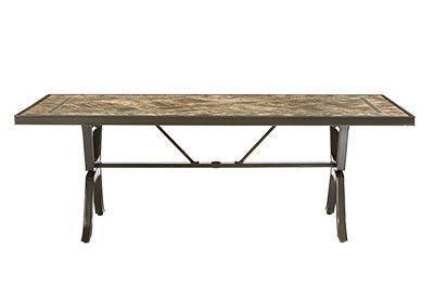 Outdoor Dining Furniture At The Home Depot - Outdoor wood rectangular dining table