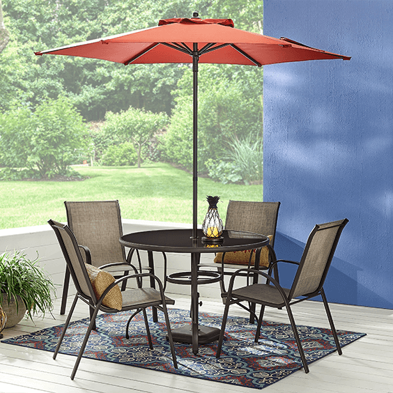 Mix and Match patio furniture