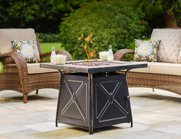 Fire Pit Sets : table and chair patio set - pezcame.com