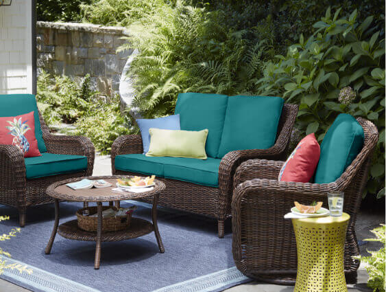 Outdoor Loveseats - Outdoor Lounge Furniture - The Home Depot