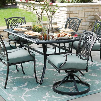 Metal Patio Dining Sets - Metal Patio Furniture Sets & Pieces - The Home Depot