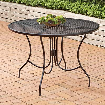 Metal Patio Tables - Metal Patio Furniture Sets & Pieces - The Home Depot