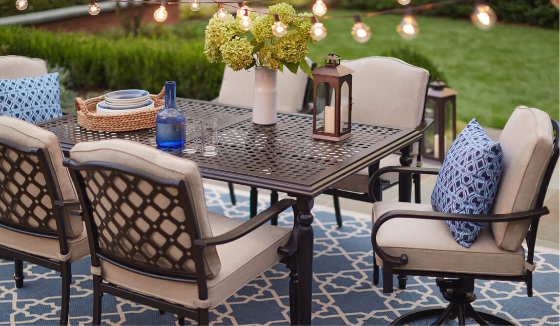 Outdoor Dining Furniture The Home Depot