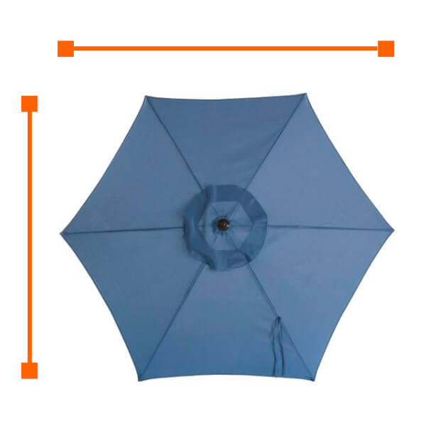 7e4b3f8f626d4 Patio Umbrellas - The Home Depot