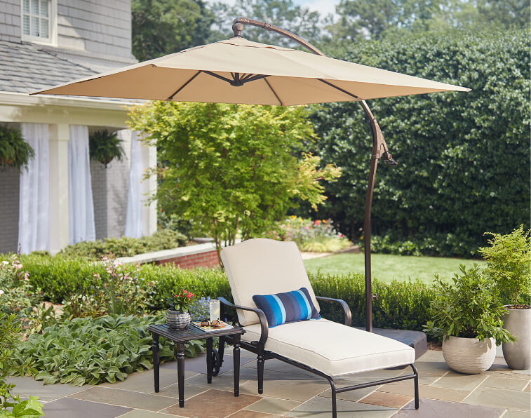 34a2f7e807e1e Patio Umbrellas - The Home Depot