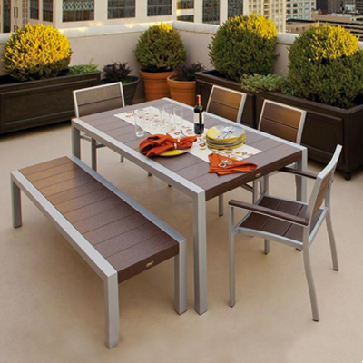 Plastic Patio Furniture - Durable Resin - The Home Depot