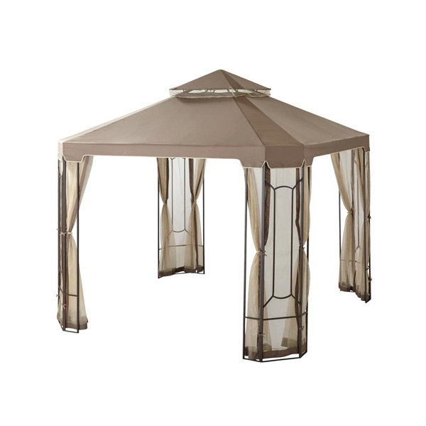 patio gazebo - Patio Table With Umbrella