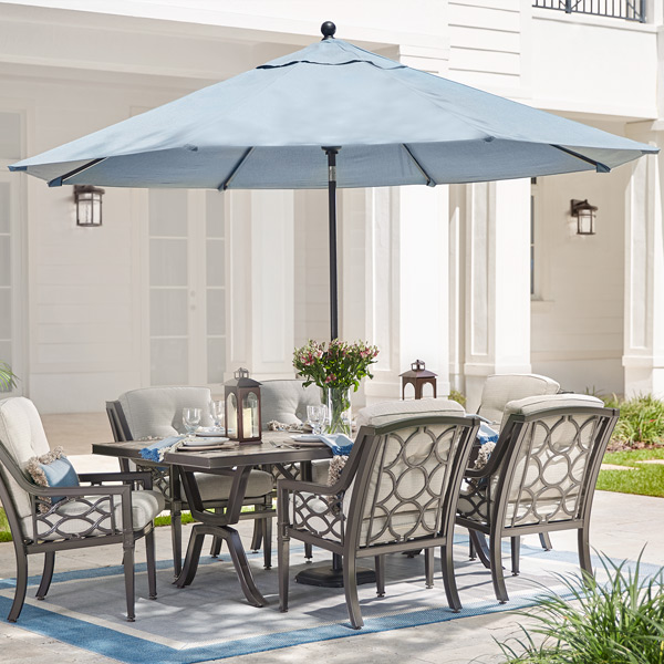 market umbrellas - Patio Table With Umbrella