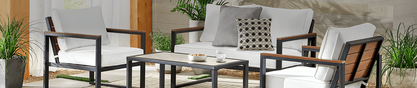 UP TO 25% OFF SELECT PATIO FURNITURE