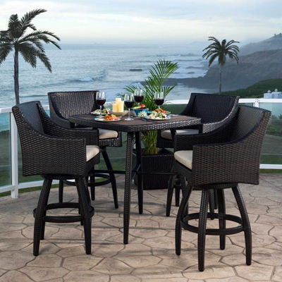Shop Wicker Bar Furniture - Wicker Patio Furniture Sets - The Home Depot