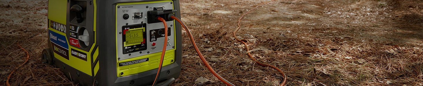 Get amped up for anything - Top-brand generators for work, emergencies or recreation