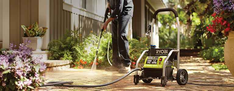 Let the water do the work - Turn your hose into a deep cleaning machine