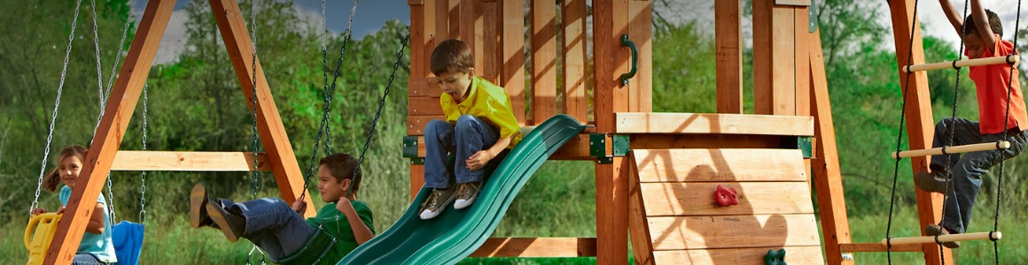 Giving Our Kids Play Space They Need >> Playground Sets The Home Depot