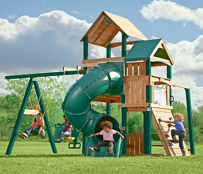 Unique Backyard Play Structures playground sets & equipment | the home depot