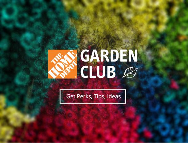 Garden Center At The Home Depot