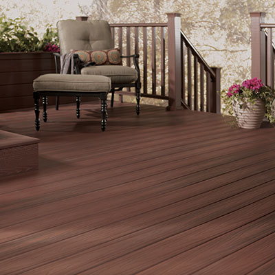 Exterior stains at the home depot for Front entry decks
