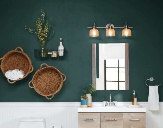 Bathroom Paint Colors & Interior Paint - The Home Depot