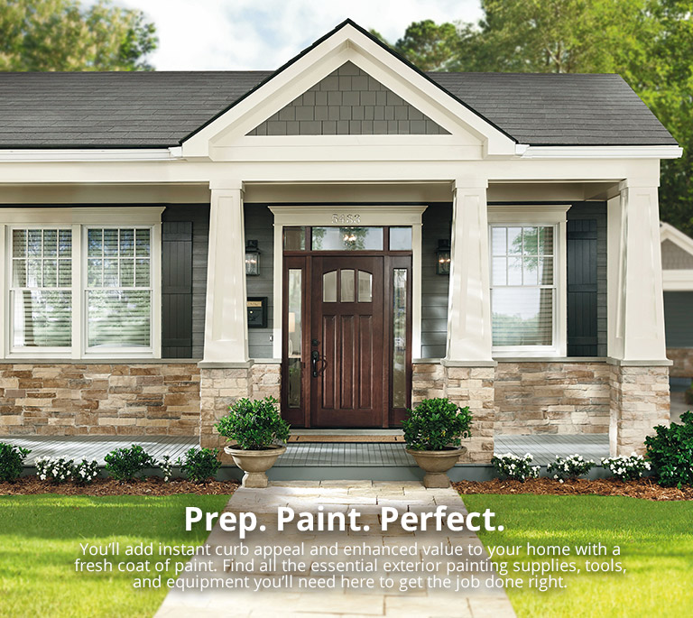 Exterior Paint Color And Trim At The Home Depot - Home-exterior-painting